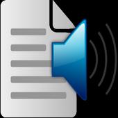 Text2Speech icon