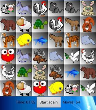 Cartoon animal memory screenshot 4
