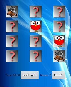 Cartoon animal memory screenshot 2