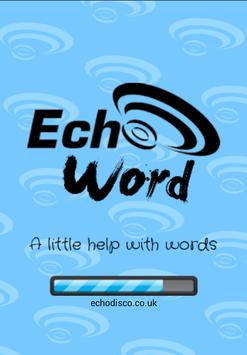 Echo Word poster