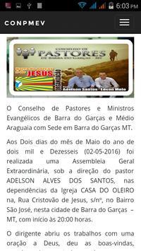 (CONPMEV) Conselho de Pastores screenshot 5