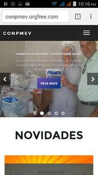 (CONPMEV) Conselho de Pastores screenshot 6