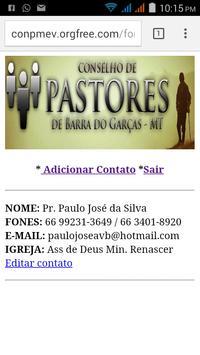 (CONPMEV) Conselho de Pastores screenshot 7