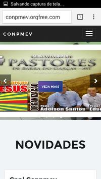 (CONPMEV) Conselho de Pastores screenshot 1