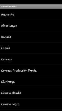 El Hortal Fruterías screenshot 2
