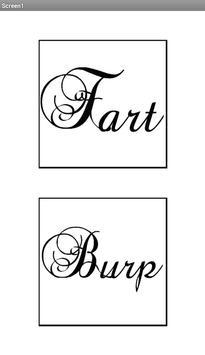 FART AND BURP MAKER poster