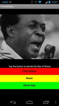 FreeGhana poster