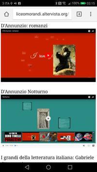 Gabriele D'Annunzio apk screenshot