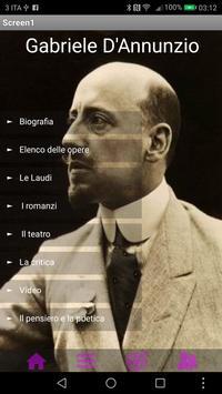 Gabriele D'Annunzio poster