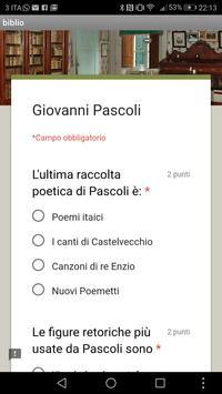 Giovanni Pascoli screenshot 5