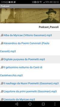 Giovanni Pascoli screenshot 6