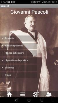 Giovanni Pascoli poster