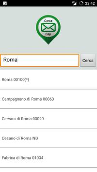 Cerca Cap screenshot 1
