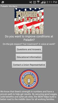 Paladin United poster