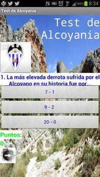 Test de Alcoyanía poster