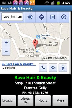 Rave Hair & Beauty poster
