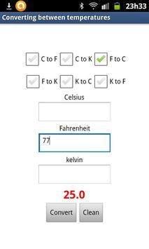 Conversion Temp apk screenshot