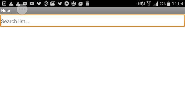 Notas apk screenshot