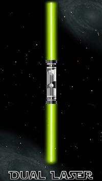 Dual Laser Light Saber poster