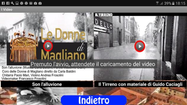 Grosseto La Piena del 66 Web screenshot 2
