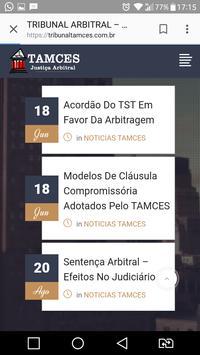 TRIBUNAL ARBITRAL TAMCES screenshot 4