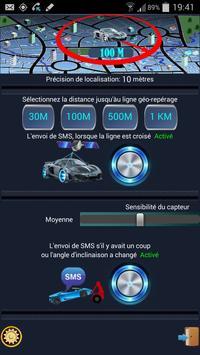 Système d'alarme de voiture screenshot 3