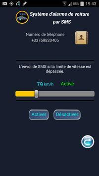 Système d'alarme de voiture screenshot 1