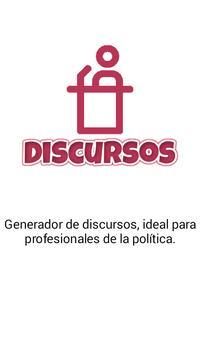 Discursos poster