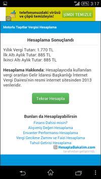 Motorlu Taşıtlar Vergisi Hesap screenshot 4