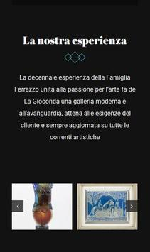 Galleria d'arte La Gioconda screenshot 1