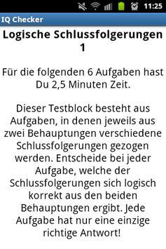 IQ Checker screenshot 14