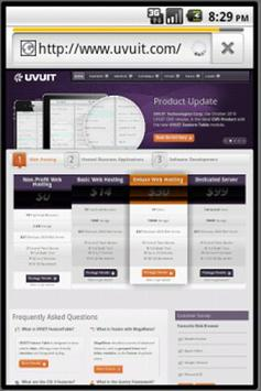 UVUIT Links screenshot 1