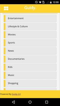 Guidy : UK TV Guide apk screenshot