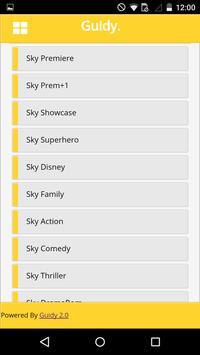 Guidy : UK TV Guide screenshot 2