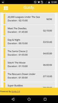 Guidy : UK TV Guide screenshot 3
