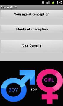 Boy or Girl poster