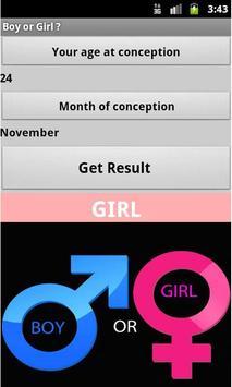 Boy or Girl apk screenshot