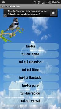 Canto de Coleiro screenshot 1