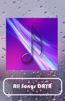 DAYA song apk screenshot