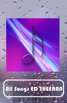 ED SHEERAN Songs screenshot 1