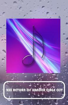 RETURN OF XANDER CAGE OST apk screenshot
