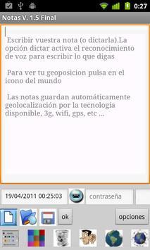 notas 2.0 apk screenshot
