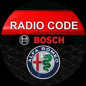 Bosch Alfa Romeo Radio Code Decoder icon