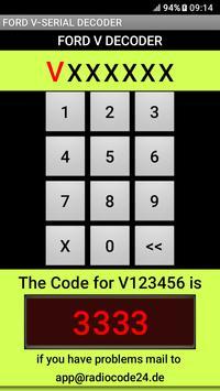 Ford V-Serial Decoder English Version screenshot 3