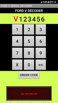 Ford V-Serial Decoder English Version screenshot 2