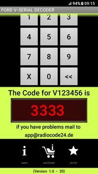 Ford V-Serial Decoder English Version screenshot 4