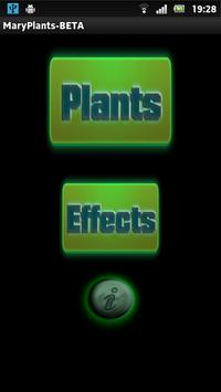 Mary Plants poster
