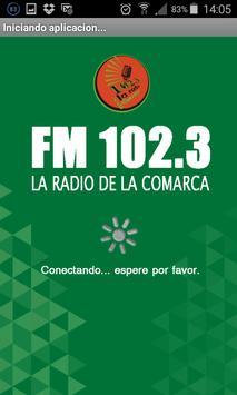 FM 102.3 Radio de la Comarca poster