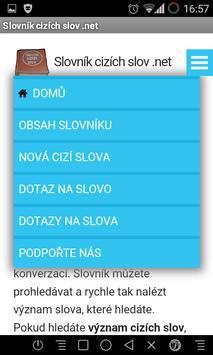 Slovník cizích slov .net apk screenshot