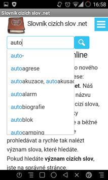 Slovník cizích slov .net poster